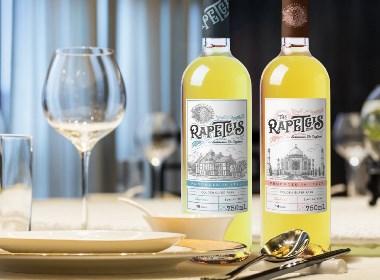 意大利干白酒系列包装设计 | 摩尼视觉原创