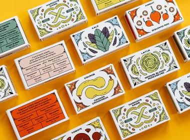 包装设计欣赏 | 插画 食品 手绘 字体 设计