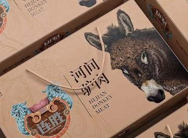连胜驴肉牛肉羊肉—徐桂亮品牌设计