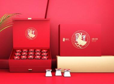 羊乳粉包装设计 纯羊奶包装设计 羊奶粉礼盒包装设计