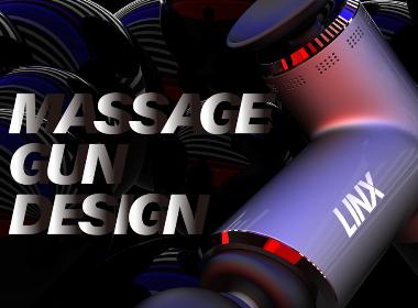 MASSAGE GUN DESIGN