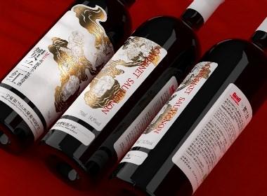贺兰红2016赤霞珠干红葡萄酒包装