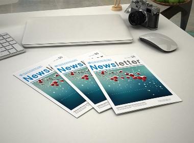 海空案例 | 贸易促进会Newsletter(第50期) · 内刊设计