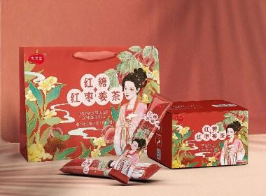 红糖姜茶系列包装设计×儒君出品