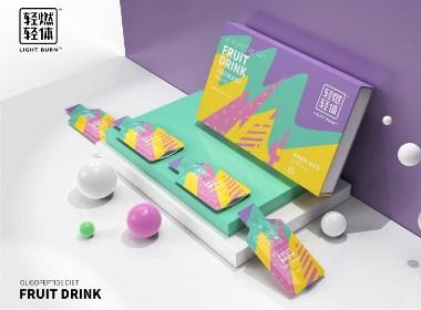 果饮包装设计案例分享02 ●  从不营销