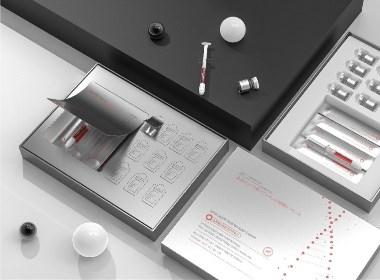 修复精华液套盒包装设计分享03 ● 从不营销