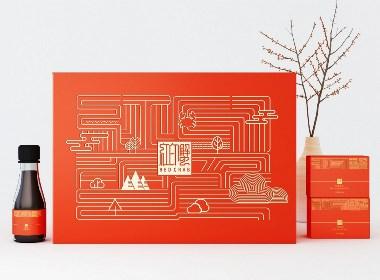 大闸蟹包装设计 大闸蟹礼盒包装设计 海鲜水产品包装设计