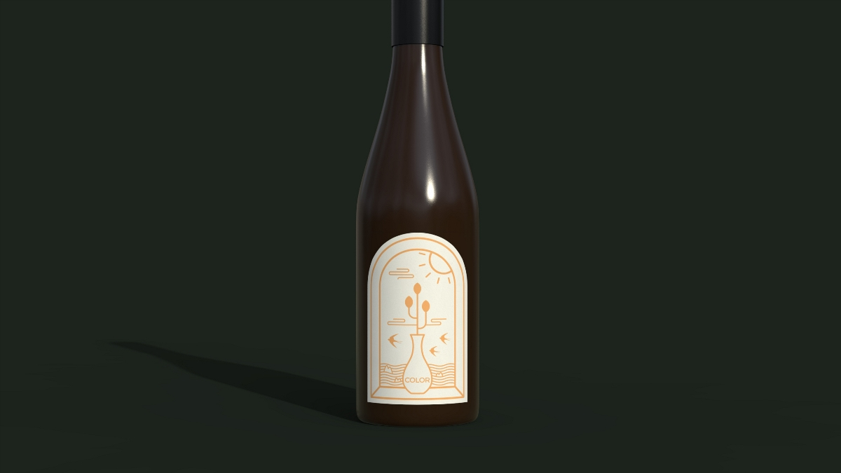 DOLPHIN ISLAND 海豚岛   红酒 包装 插画 LOGO 设计