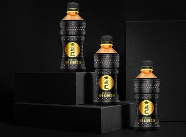 天珠紅維生素風味飲料包裝設計