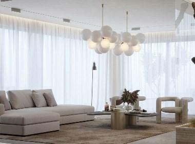 浅色系公寓 给空间带来宁静美感