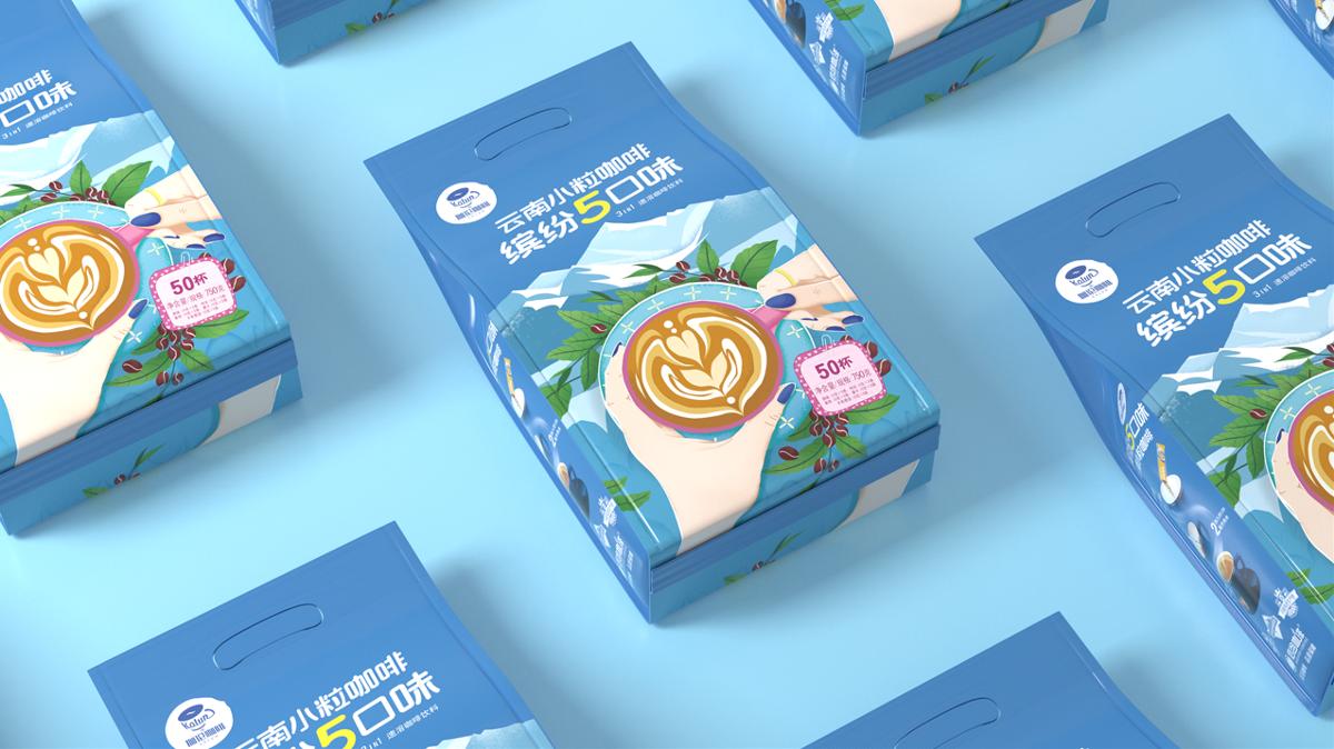 伽伦咖啡 丨 浓香 原味 摩卡 卡布奇诺 拿铁