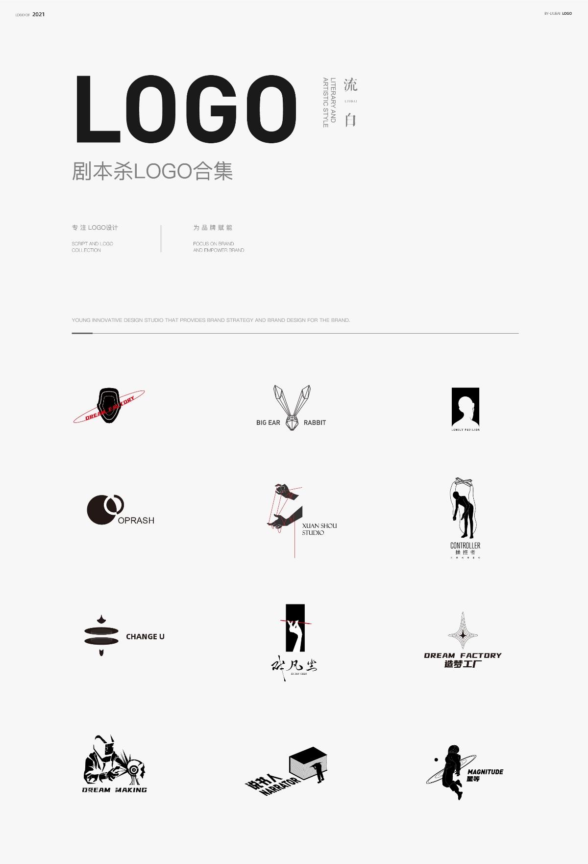 劇本殺logo設計