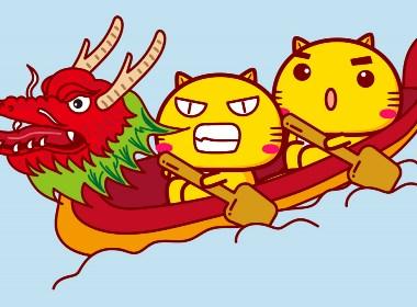 哈咪猫端午节