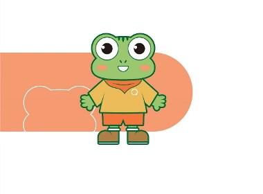 趣蛙旅行 ip形象设计