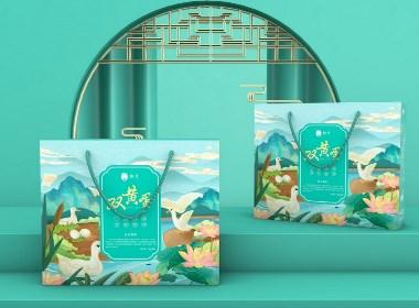 南阳特产桐蛋品牌系列产品,用设计为非遗工艺项目品牌赋能