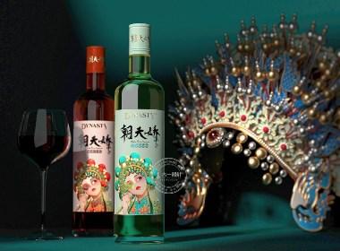 王朝酒业 × 古一设计|更年轻、更国潮的朝天娇玫瑰露酒包装设计