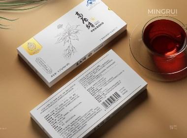 参麦氨基酸胶囊·牧秋堂 包装设计©刘益铭 原创作品