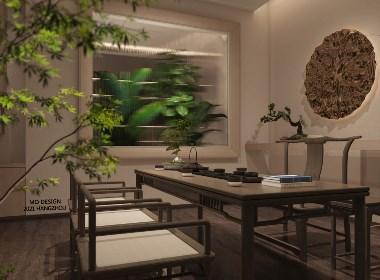 茶空间设计-雨林古茶坊