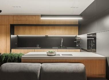 人与自然的关系:58²小户型的自然公寓 | NEEN DESIGN