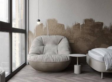 现代风格:65²专注于生活而不影响设计 | NEEN DESIGN