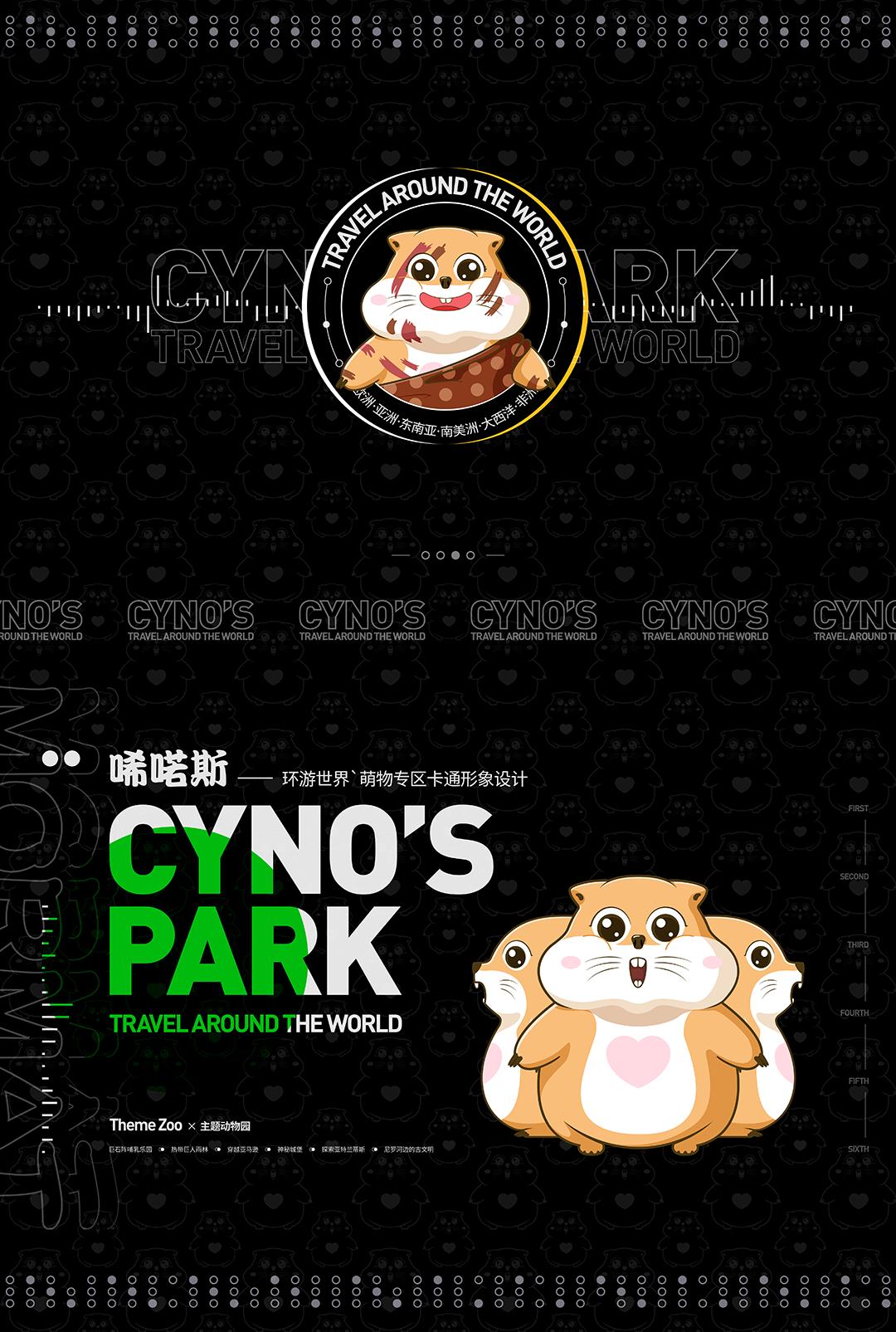 乌镇CYNO'S PARK唏喏斯主题动物园IP吉祥物设计