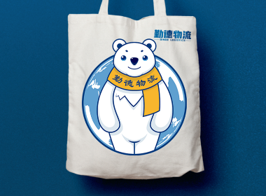 物流LOGO徽章LOGO卡通LOGO熊LOGO动物LOGO