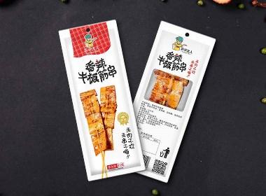 烤串品牌包装设计,零食包装设计,快消包装设计