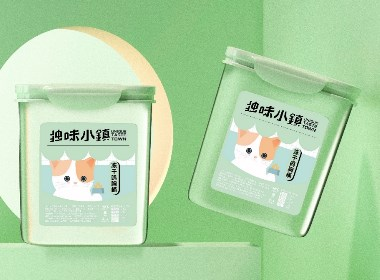 独味小镇 宠物零食包装设计