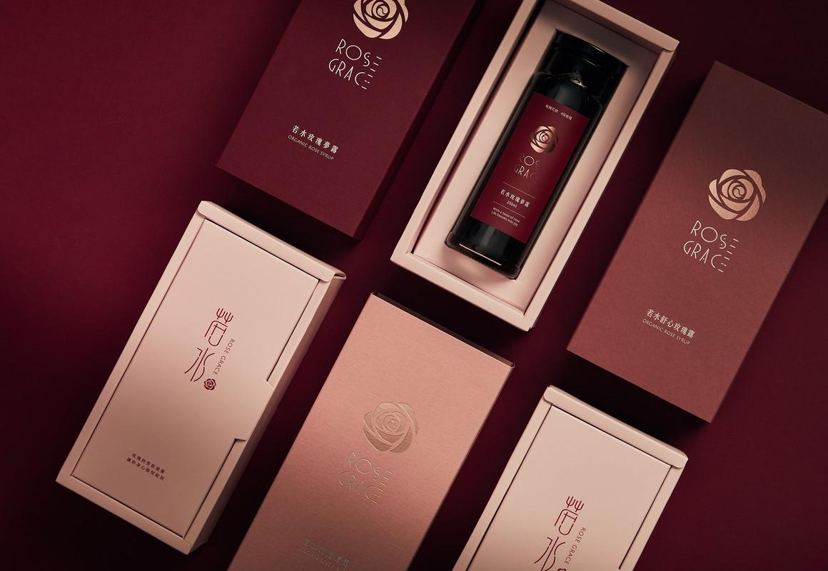 玫瑰露产品视觉设计