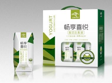 酸奶包装设计,酸奶礼盒设计,包装设计,字体设计,快消品包装设计