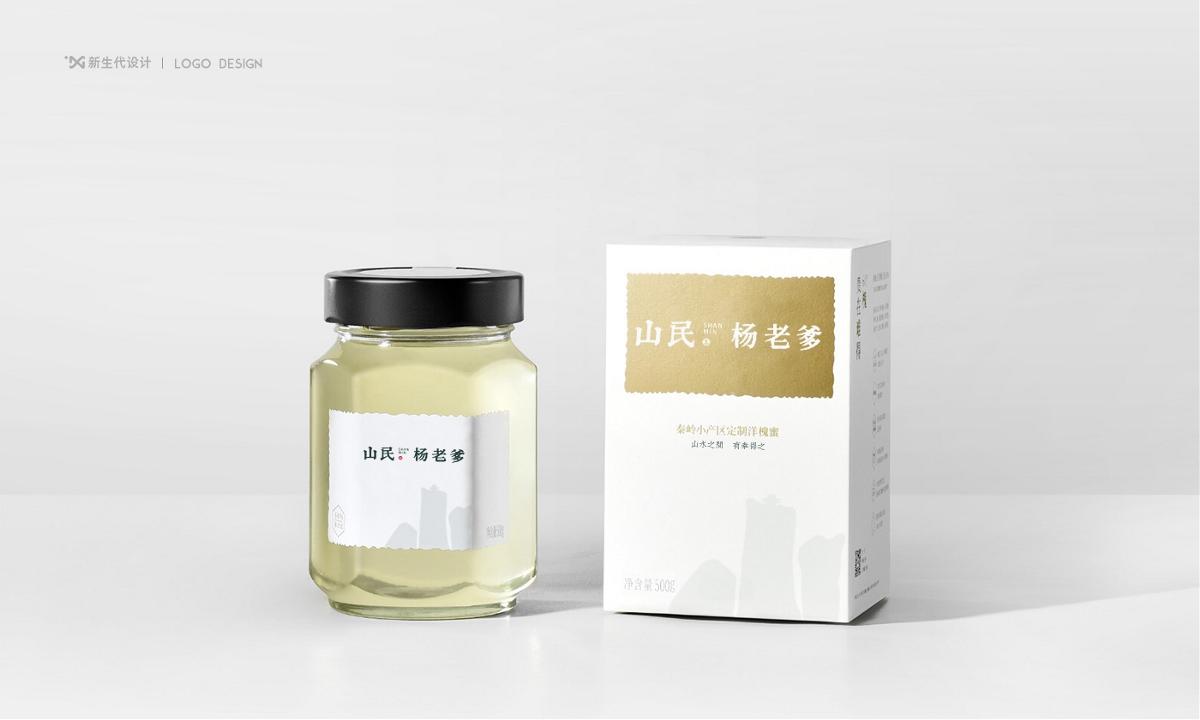新生代品牌创意设计丨山民·杨老爹品牌形象设计
