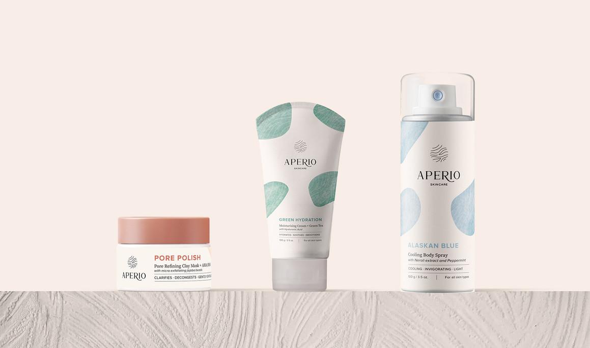 美容保湿天然护肤品品牌设计