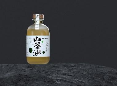 《猴也》山茶油包装设计 X 自然符号设计