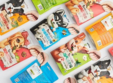 森西SENSI·潔牙棒 寵物食品包裝設計