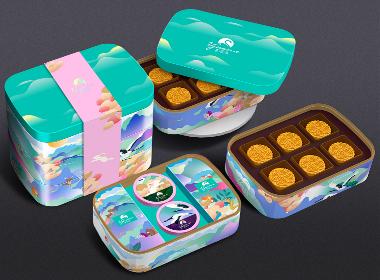 香港喜尚美月饼包装