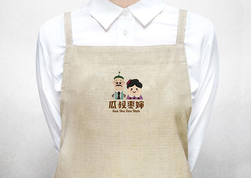 瓜叔枣婶品牌形象设计