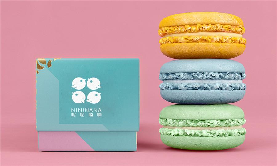 呢呢喃喃甜品品牌形象设计