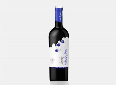 東方藍-藍莓酒包裝設計