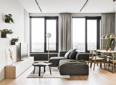 极简和理性:64²柔和色调和对比鲜明的黑色元素:NEEN DESIGN·尼恩设计