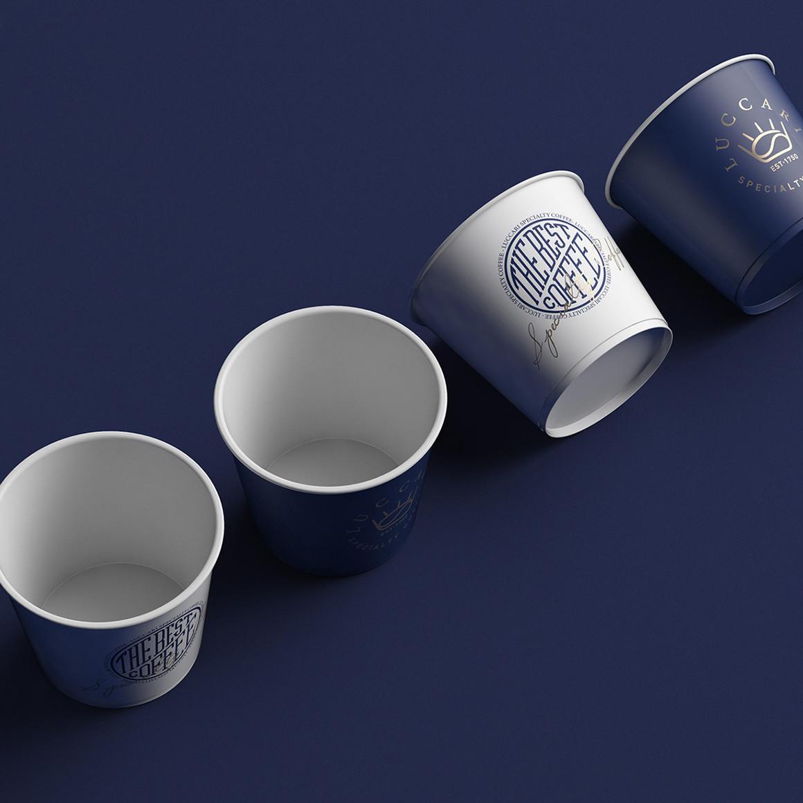 皇室咖啡特色标识品牌视觉设计