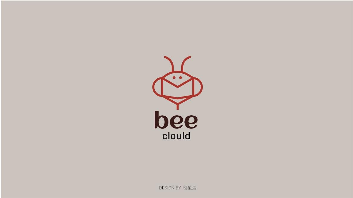 关于蜜蜂的logo设计