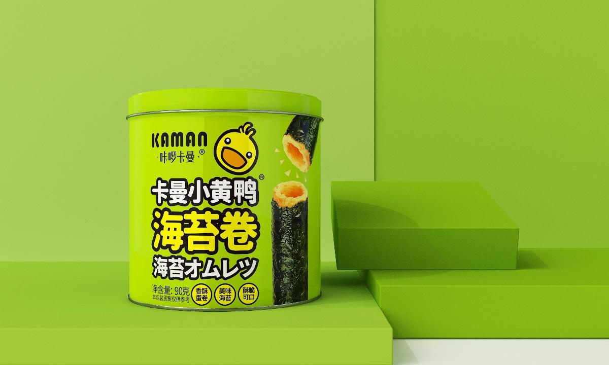 卡啰卡曼海苔卷-品牌包装设计