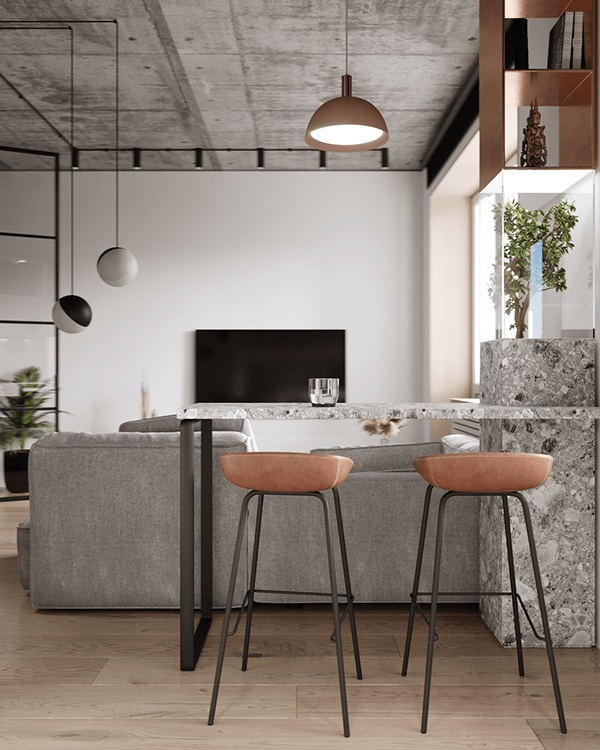 小空间公寓设计 超有感觉