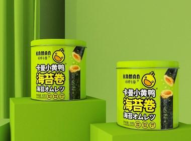 卡啰卡曼海苔卷-品牌包裝設計