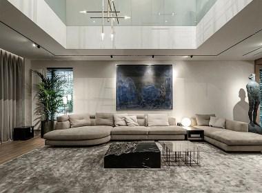 和尊设计HR·HOME丨450㎡高级轻奢大宅!
