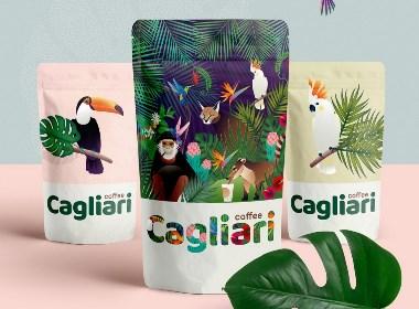 插畫咖啡包裝設計