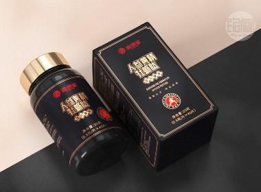 黄精牡蛎肽|男性保健品|品牌包装设计©刘益铭原创作品