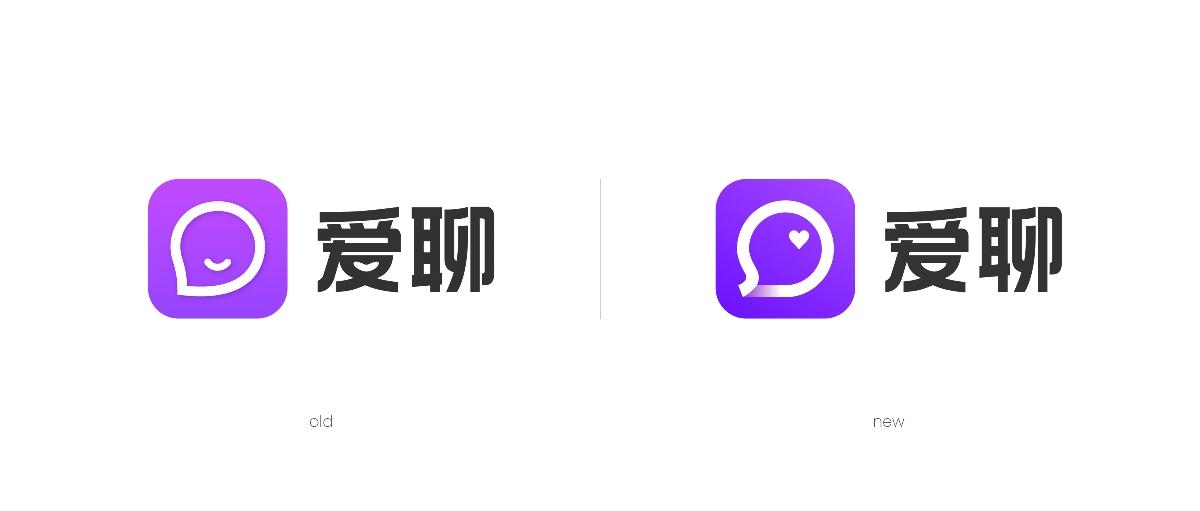 爱聊 × 3721设计 | 品牌名视觉化,用户更记得住