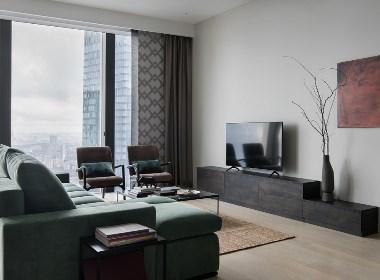 110²属于现代男士的单身公寓 | NEEN DESIGN·尼恩设计