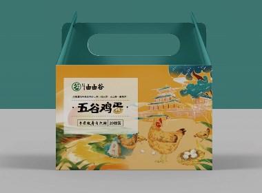 丨包装设计丨康欣由由谷五谷鸡蛋包装设计
